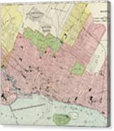 photograph regarding Printable Map of Montreal known as Common Map Of Montreal - 1903