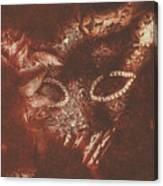 Vintage Masquerade Canvas Print