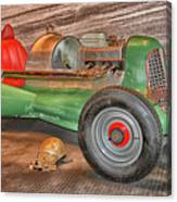 Vintage Midget Racer Canvas Print