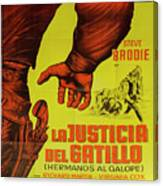 Vintage Movie Poster 1 Canvas Print