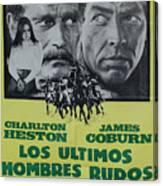 Vintage Movie Poster 6 Canvas Print