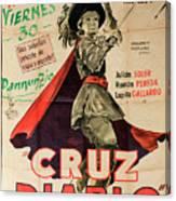 Vintage Movie Poster 7 Canvas Print