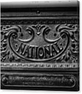 Vintage National Cash Register Canvas Print