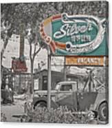 Vintage Neon Signs Canvas Print