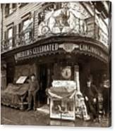 Vintage New York City Canvas Print