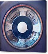 Vintage Oil Indicator Canvas Print