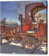 Vintage Packard Truck Canvas Print