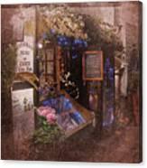 Vintage Paris 1 Canvas Print