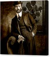 Vintage Photograph Of Vincent Van Gogh - Taken 13 Years After His Death Canvas Print