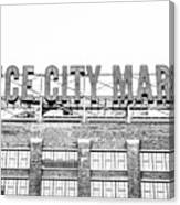 Vintage Ponce City Market  Canvas Print