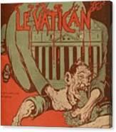 Vintage Poster - Vatican Galantara Canvas Print