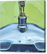Collectible Vintage Rover Hood Ornament Canvas Print