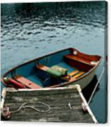 Vintage Rowboat Canvas Print