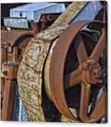 Vintage Rusty Machine Canvas Print