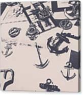Vintage Sailing Art Canvas Print
