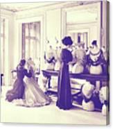 Vintage Seamstress Canvas Print