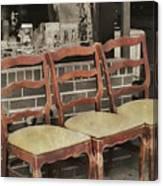 Vintage Seating Canvas Print