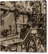 Vintage Sewing Canvas Print