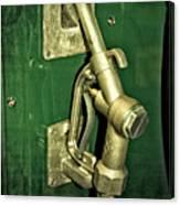 Vintage Sinclair Dino Gas Pump Canvas Print