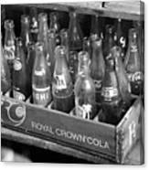 Vintage Soda Case  Canvas Print
