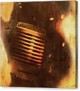 Vintage Sound Check Canvas Print