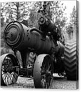 Vintage Steam Tractor Canvas Print