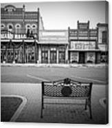Vintage Street View Canvas Print