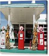 Vintage Texaco Station Canvas Print