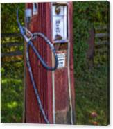 Vintage Tokheim Gas Pump Canvas Print