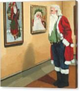 Vintage Victorian - Museum Santa Canvas Print