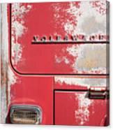 Vintage Volkwagen Emblem Canvas Print