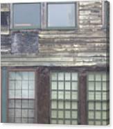 Vintage Warehouse Building Canvas Print