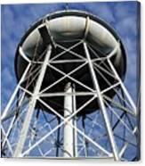 Vintage Water Tower Canvas Print