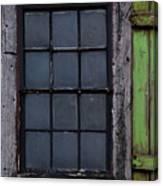 Vintage Windows Canvas Print