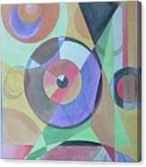 Vinyl Eye Canvas Print
