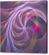 Violet Dreamy Feel Canvas Print