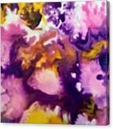 Violet Explosion  Canvas Print