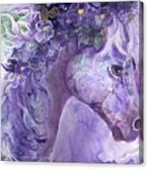 Violet Fantasy Canvas Print