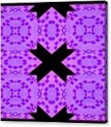 Violet Haze Abstract Canvas Print