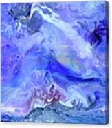 Violet Storm Canvas Print