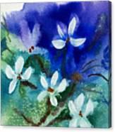 Violets 2 Canvas Print