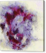 Violets Abstract Canvas Print
