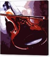 Violin Artistic Canvas Print