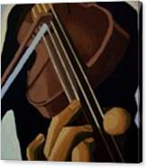 Violin Player Canvas Print