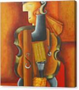 Violin Time Canvas Print