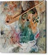 Violinist 56 Canvas Print