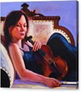 Violino Canvas Print