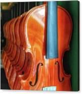 Violins For Sale Canvas Print