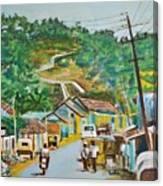 Virajpet Town Canvas Print