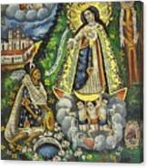 Virgen De Ocotlan Canvas Print